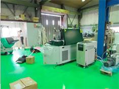 ノースヒルズ溶接工業の工場内設備の画像です。