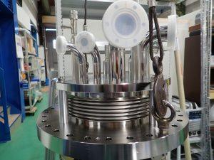 液体窒素・液体ヘリウムタンク3
